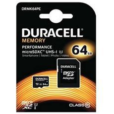 DRMK64PE, MicroSDXC, Nero, UHS-I, Class 10, SD
