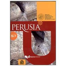 Perusia. Rivista del Dipartimento di culture comparate dell'Università per stranieri di Perugia. Nuova serie (2012) . Vol. 7