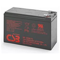 Batteria Gruppo di Continuità UPS Ricaricabile 9Ah12 V