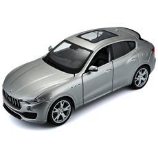 Giocattolo Veicolo Maserati Levante Scala 1:24 Colore Argento