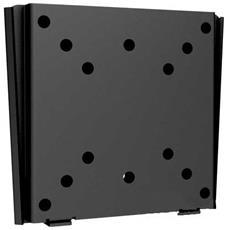 """Supporto TV Tipo Muro per LCD / Plasma / LED Nera 13 - 24"""" 23114A"""