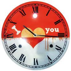 Orologio Muro D. 30 Vtr-cuore
