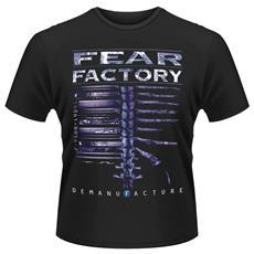 Fear Factory - Demanfacture Stampa Fronte E Retro (T-Shirt Unisex Tg. M)