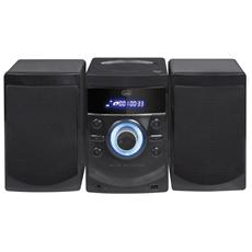 Sistema Mini Hi-Fi HCX1050S Lettore CD Supporto MP3 colore Nero