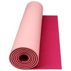 41wc Stuoia Fitness / Yoga Arancione Fluorescente Beige