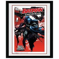 Comic - Bats (foto In Cornice 20x15 Cm)