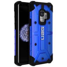 Cover Galaxy S9 Protezione Antishock Anticaduta Uag Plasma Blu Trasparente