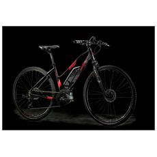 Bici Ibrida Elettrica Lombardo E-amantea Sport Donna 400 Altus 9v -nero