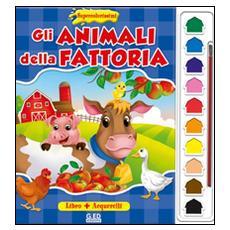 Gli animali della fattoria. Supercolorissimi. Con gadget
