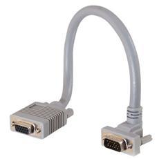 Cavo Video C2G 81076 - for Monitor - 1 Pacco - 1 x HD-15 Maschio VGA - 1 x HD-15 Femmina VGA - Cavo estensione - Grigio