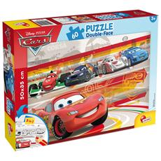Cars - Puzzle Double-Face Plus 60 Pz