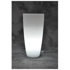Vaso Home Light Tondo Cm. 40x90h. ghi / bia