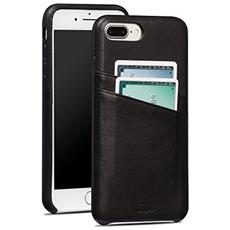Cases iPhone 7 Plus Snap On Wallet nero