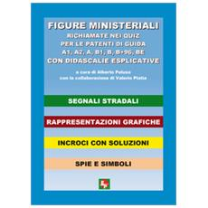 Figure ministeriali richiamate nei quiz per le patenti di guida A1, A2, A, B1, B, B+96, BE con didascalie esplicative