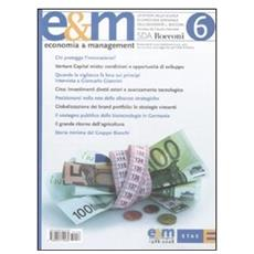 Economia & Management. Vol. 6.