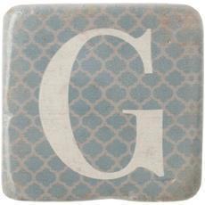 Sottobicchieri Con Lettere (9 X 9 X 0.8cm) (g)