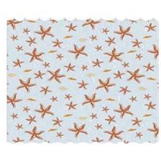 Tenda doccia tessuto poliestere anelli inclusi Design stelle H 200x240 cm