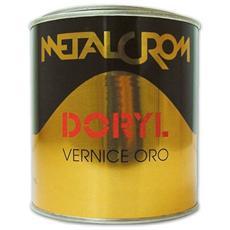 Vernice nitro-sintetica - Colore Oro Ricco Doryl Metalcrom 0,050 Lt.