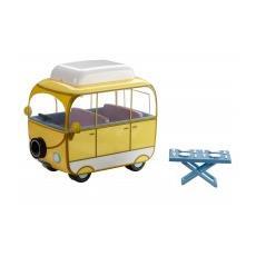 Peppa Pig Camper giallo con tavolino 12,5 x 10 x 9 cm