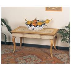 Tavolino In Legno Da Salotto 1 Cassetto 100x60x48h