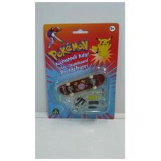 Pokemon Mini-skateboard Portachiavi Con Ruote E Accessori - Koffing - 8000144512157