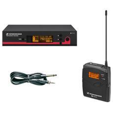 EW 172 G3, 25 - 18000 Hz, Senza fili, 212 x 202 x 43 mm, 900g, AA, Nero