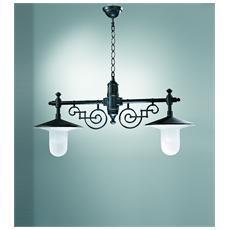 Illuminazione 834-2 - Sospensione Fusione Alluminio