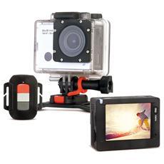 Action Cam GoXtreme WiFi Speed HD Sensore Full HD Display 2'' Wi-Fi Impermeabile + Accessori