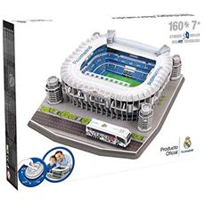 Puzzle 3D Nanostad Santiago Bernabeu Stadio Real Madrid 160 Pezzi