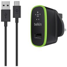 Cavo da USB-C a USB-A con caricabatteria da casa universale
