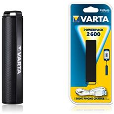 Portable Powerpack 2600 Mah Nero