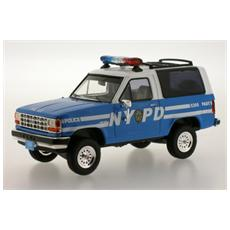 Prd199 Ford Bronco Nypd Police 1990 1:43 Modellino