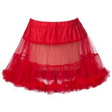 Sottogonna tutu retro' rosso L-XL