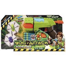 Bug Attack Rapid Fire Blaster giocattolo