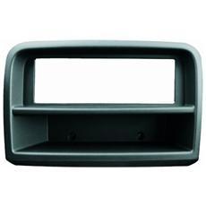 Adattatore autoradio 03337 Mascherina con foro ISO colore nero Croma