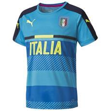 Maglia Italia Training Jersey 2016 L Azzurro Blu