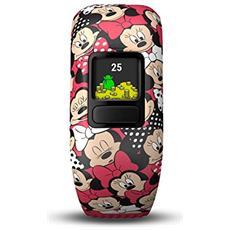 Vivofit Junior 2 in Silicone Impermeabile Bluetooth Compatibile con iOS Android Contapassi Contacalorie Multicolor