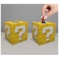 Nintendo - Super Mario Question Block (Salvadanaio)