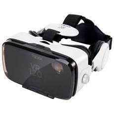 """VR 120 per Smartphone da 4.7"""" - 6.2"""" Android / iOS in TPU - Nero / Bianco"""