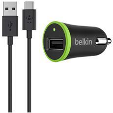 caricabatt. 2,1 A incl. 1,8 m USB-C cavo F7U002bt06-BLK