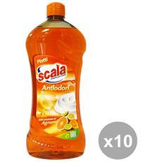 Set 10 Piatti 750 Ml. Agrumi Detergenti Casa