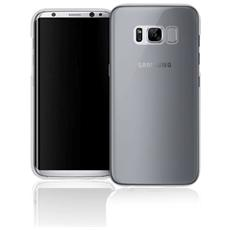 Cover in TPU per Galaxy S8 Trasparente e Nero