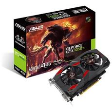 Scheda Video Cerberus GeForce GTX 1050 Ti Advanced Edition 4 GB GDDR5 1 x DVI-D / 1 x HDMI 2.0b / 1 x DisplayPort / Supporto HDCP