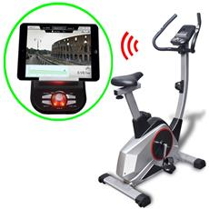Cyclette Programmabile Con Massa Mobile 10 Kg Smartphone App