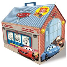 Scrigno Casetta Timbri Disney Cars 9823