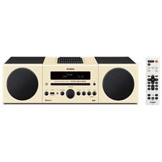 Sistema Micro Hi-Fi MCR-B043 DAB / DAB+ Lettore CD Supporto MP3 / WMA Potenza Totale 30Watt Bluetooth USB colore Beige