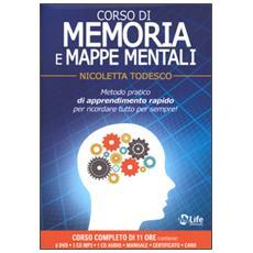 Corso di memoria e mappe mentali. Con 6 DVD e CD Audio formato MP3