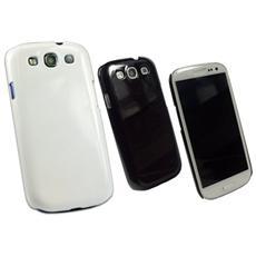 Cover Custodia Per Galaxy S3 Lucido (Bianco, Nero)