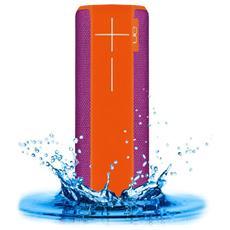 ULTIMATE EARS - Speaker Wireless Portatile Boom 2 Bluetooth / NFC colore Arancione / Viola
