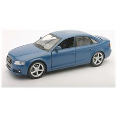 DieCast 1:24 Auto Audi A4 Blu 71076